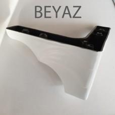 10 cm Mobilya Ayak Beyaz Ceviz Venezia Koltuk Kanepe Dolap Ayak