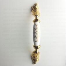 128mm-porselen görünümlü-kulp-yaprak-ayak-altın-gold-143-orgu-mobilya-kulp
