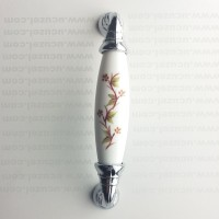96 mm Polimer Porselen Görünüm Dalyaprak Krom