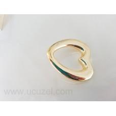 32 mm Kalp Altın Kulp Kulp Mobilya Kulpu Dolap Kulplar