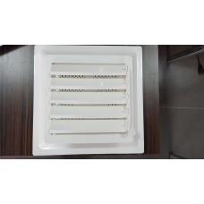 Menfez 30x30 Plastik Kaliteli Yukarı açmalı BANYO VE WC HAVALANDIRMA